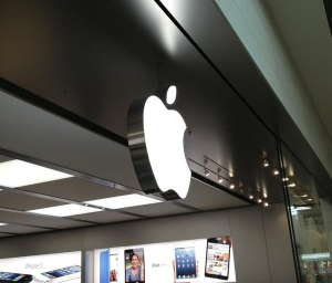 Apple store in Laval, Quebec